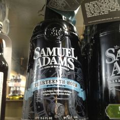 Sam Adams 13th hour stout, 84 on beer advocate