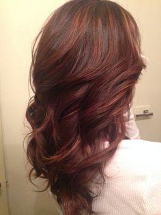 Brown balayage by @Erin Keenan perfect for dark brown hair