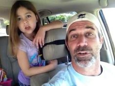 Pin for Later: You Will Laugh and Cry While Watching These Viral Dad Videos Daddy-Daughter Frozen Duet