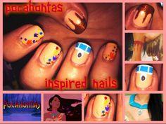 Pocahontas nails!