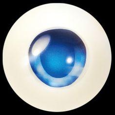 """Volks- Animetic eyes """"K type"""" Bright Blue/Ruri   Dollfie Dream Sister Dynamite Mini DDdy DD DDS MDD"""