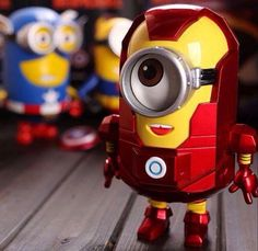 Combining my 2 fav. Things: iron man and a minion, I'm so proud.