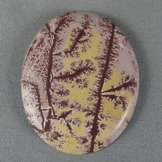 Sonoran Dendritic Rhyolite Cabochon Designer Cab by azbluerockers