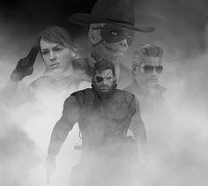 Fan art Metal Gear Solid V The Phantom Pain #ThePhantomPain #MetalGearSolidV…