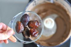 Add 5-7 pitted dates for an all-natural sweetener. This is a must!