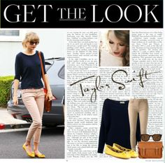 """""""Get the Look - Taylor Swift : Incognito Edition"""" by agustinacalcagno on Polyvore"""