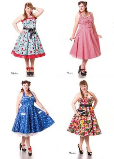 If you love our plus sizes, check out www.hotrockinbelle.com/  who just added some fantastic photographs of their plus size stock, Vonnie, Avast 50's Dixie, Chantal and more!! — with Retro Photostudio and Amanda Coban.