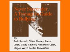 Never Surrender: A Teenager's Guide To Bullying by Pam Pirogowicz & Jonathan Smith