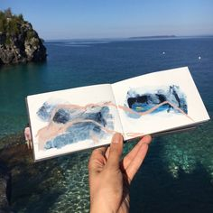 Sketchbook Season: Kicking it off by Taking A Moment to Look Back Textiles Sketchbook, Travel Sketchbook, Watercolor Sketchbook, Sketchbook Pages, Art Journal Pages, Art Journaling, Sketchbook Inspiration, Painting Inspiration, Art Inspo