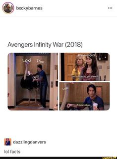 I don't actually think Thor and Loki will arrive on Earth together, but this is funnt