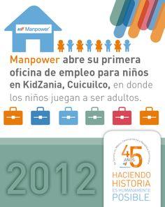 En 2012, ManpowerGroup...