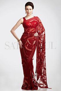 http://www.SatyaPaul.com/ Designer Sarees 2013