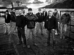 'Deadliest Catch,' the Discovery reality show about the real-life dangers of fishing for king crab in the Bering Sea, is back for a seventh season, but with a more somber tone at sea as the crew members grapple with tragedy. Movies Showing, Movies And Tv Shows, Discovery Channel Shows, Deadliest Catch, Man Parts, Rite Of Passage, Me Tv, Make New Friends, Music Tv
