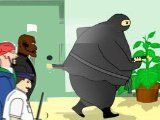 Fat Ninja is a Ninja Game about Stealth. Using your ninja skills try not to get spotted by the security guards, as you make your way through the building.