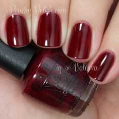 "OPI ""Malaga Wine"" - I have this on right now. Stunning color."