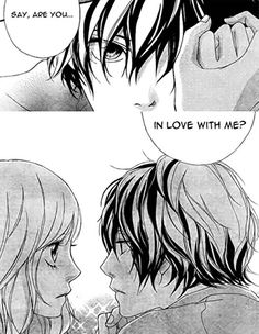 Image uploaded by littledreamer ~. Find images and videos about manga, rainbow and ao haru ride on We Heart It - the app to get lost in what you love. Futaba Y Kou, Futaba Yoshioka, Ao Haru Ride Anime, Miraculous, Howl And Sophie, Blue Springs Ride, Manga Couple, Manga Covers, Cute Stories