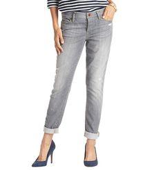 Hot trend for Fall 2013: Boyfriend Jeans in Carbon Grey Wash | Loft