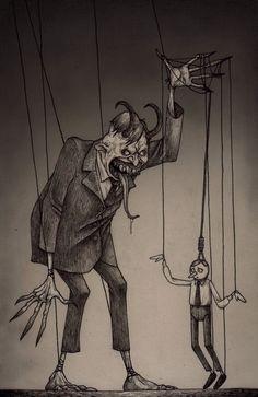 Nuestras acciones son manejadas muchas veces por personas que nos manejan como sus marionetas.