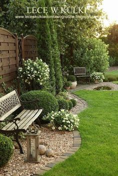 Beautiful Backyard And Frontyard Landscaping Ideas 120....would love to do something like this for the left side of back yard, with pergola fence behind it, and climbing magnolias