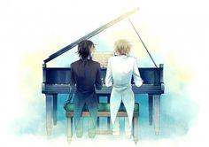 Pandora Hearts: Elliot and Leo