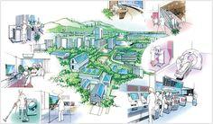 東芝グループでは、家電からデジタル機器、オフィス機器、公共機器、医用機器や社会インフラシステムに至るまで幅広い分野で、ユニバーサルデザインに取り組んでいます。