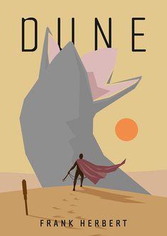 DUNE movie poster by Thomas Boldsen
