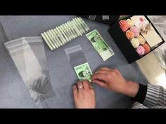 용돈박스 현금롤 마는 방법 - YouTube