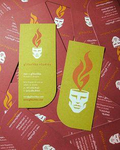 Fantásticos Cartões de Visitas. A base do talento de designers!