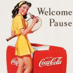 So cute, vintage coca cola