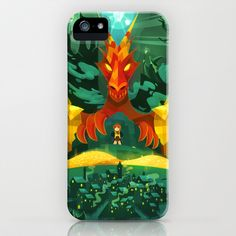 There and Back, Again iPhone & iPod Case by carlos lerma - $35.00