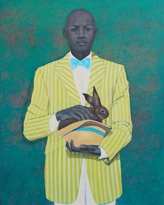 The Rabbit In The Hat - Amy Sherald