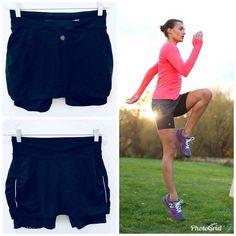 Women's Clothing 2019 New Style Athleta Aurora Contender Ii Blue Space Dye Skirt Short Skort Medium Euc Modern And Elegant In Fashion Activewear