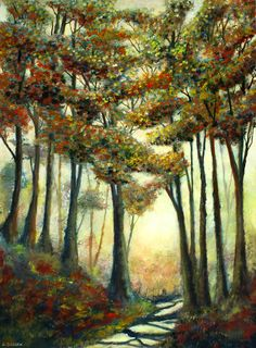 Forest shadows by Serena Sussex, inspired by the South Downs