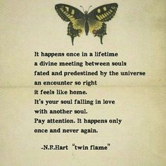 soul falling in lover with another soul -Twin flame Soulmate Signs, Soulmate Love Quotes, Soul Quotes, Love Quotes For Him, Life Quotes, Status Quotes, Crush Quotes, Quotes Quotes, Qoutes