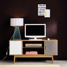 Meuble TV vintage en bois L 120 cm Fjord | Maisons du Monde
