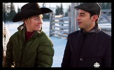 Heartland - - On the Line Heartland Season 7, Heartland Cast, Ty And Amy, Amber Marshall, Country Girls, Favorite Tv Shows, Winter Jackets, Seasons, In This Moment