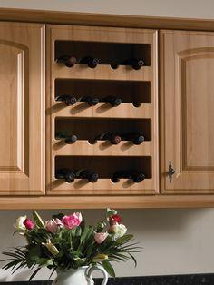 Stylish Kitchen Upgrades From Diy Kits Wine Rack Cabinet