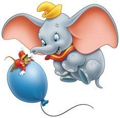 *TIMOTHY MOUSE & DUMBO ~ Dumbo, 1941