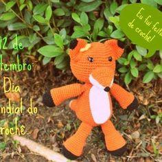Feliz dia do crochê! :D #amigurumi #feitoamao #handmade #amigurumidolls #crochet…