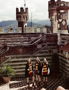 VOGUE JAPAN CASTS SPELL OVER FALL COLLECTIONS VIA HARRY POTTER EDITORIAL