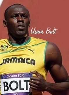 Usain Bolt Usain Bolt, Living Legends, Jamaica, Lightning, Famous People, Beautiful People, Motivation, Sports, Inspiration