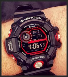 FS: Fully Custom Black/Red CASIO G-SHOCK GW-9400KJ-8JR RANGEMAN