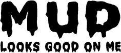 Decal Sticker Cut Vinyl Car Truck Jeep Mud Decal Cut Vinyl by StickItUpVinyl on Etsy