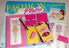 Fashion Plates- another one of my fave toys growing up :)