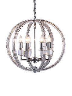Urban Lights Cristal 6-Light Pendant Lamp, Polished Nickel, http://www.myhabit.com/redirect/ref=qd_sw_dp_pi_li?url=http%3A%2F%2Fwww.myhabit.com%2Fdp%2FB00VMYSAOQ%3F