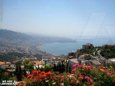 #Lebanon, Adma view of Jounieh #جونيه Photo by Alice De La Forêt
