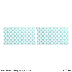 Aqua Polka Dots Pillow Cases Available on many products! Hit the 'available on' tab near the product description to see them all! Thanks for looking!  @zazzle #art #polka #dots #shop #home #decor #bathroom #bedroom #bath #bed #duvet #cover #shower #curtain #pillow #case #apartment #decorate #accessory #accessories #fashion #style #women #men #shopping #buy #sale #gift #idea #fun #sweet #cool #neat #modern #chic #blue #aqua #light #dark #white