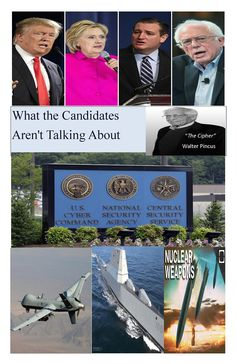 The public should have some indication – beyond bumper sticker slogans – of how candidates see and will deal with the broader national security issues they will face. The candidates need to speak publicly about this most important part of the role they are seeking.   https://rosecoveredglasses.wordpress.com/2016/04/20/hard-national-security-issues-for-the-next-president/