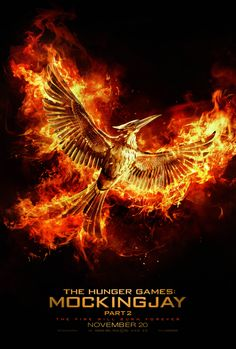 The Fire Will Burn Forever... The final chapter to The Hunger Games series, #MockingjayPart2 arrives November 20.