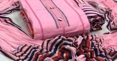 Myra Fashionable Suits & Dress Materials Top Fabric: Soft Cotton + Top Length: in Mtr Bottom Fabric: Pure Cotton + Bottom Lengt. Embroidery On Kurtis, Kurti Embroidery Design, Hand Embroidery, Designer Punjabi Suits Patiala, Salwar Suits, Patiala Suit, Cotton Saree Blouse Designs, Kurta Designs Women, Churidar Designs
